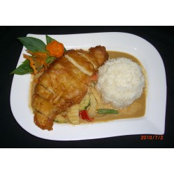 41 Crispy chicken breast...